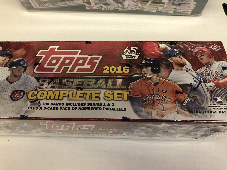 2016 TOPPS Baseball Factory SET