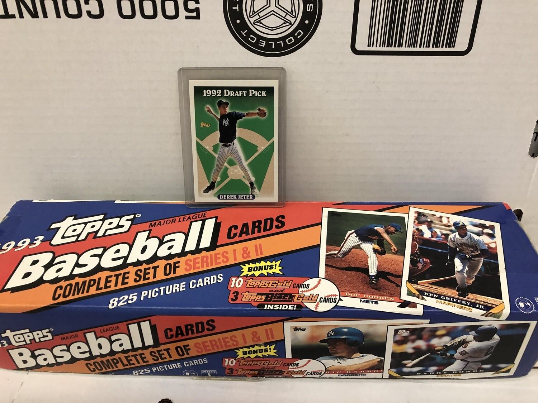 1993 Topps Baseball set Jeter Rookie Nr Mint/Mint