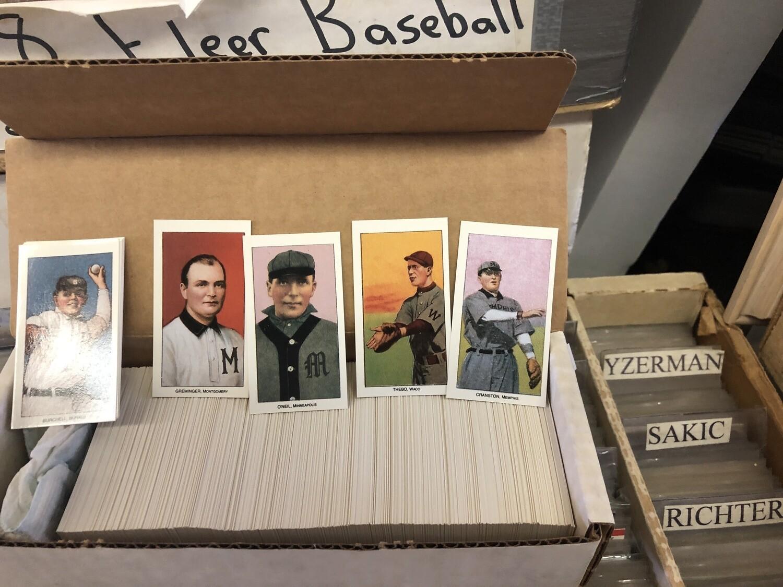 1909-11 T206 Complete Reprint Baseball set