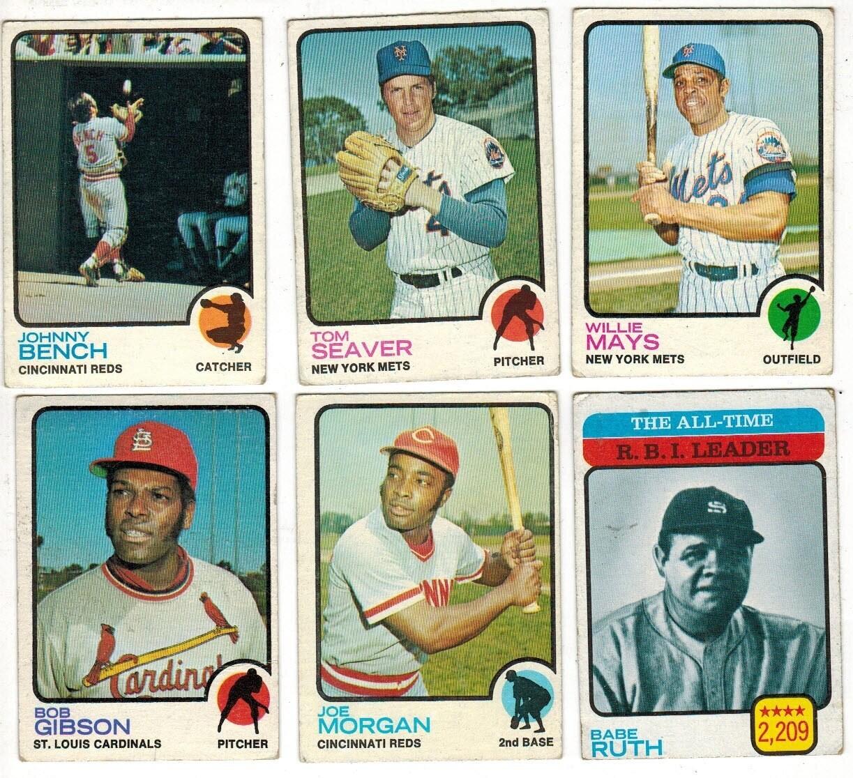 1973 Topps Near Baseball Set 506 ct. VG or less
