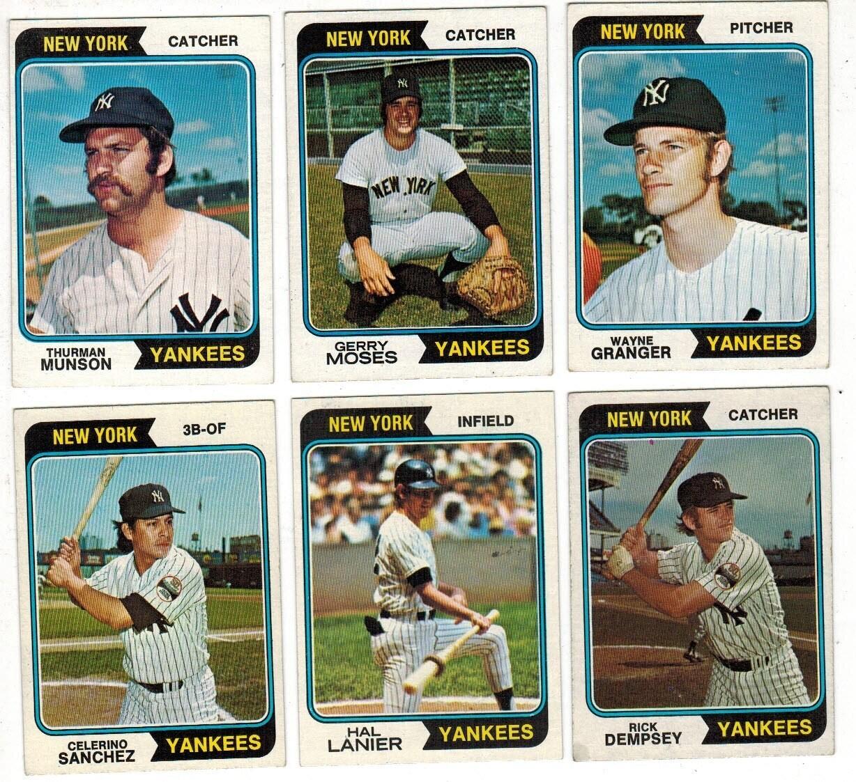 1974 Topps Yankee Team set 28 ct.