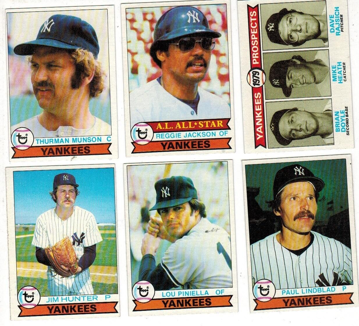 1979 Topps Yankee Team set 28 ct.
