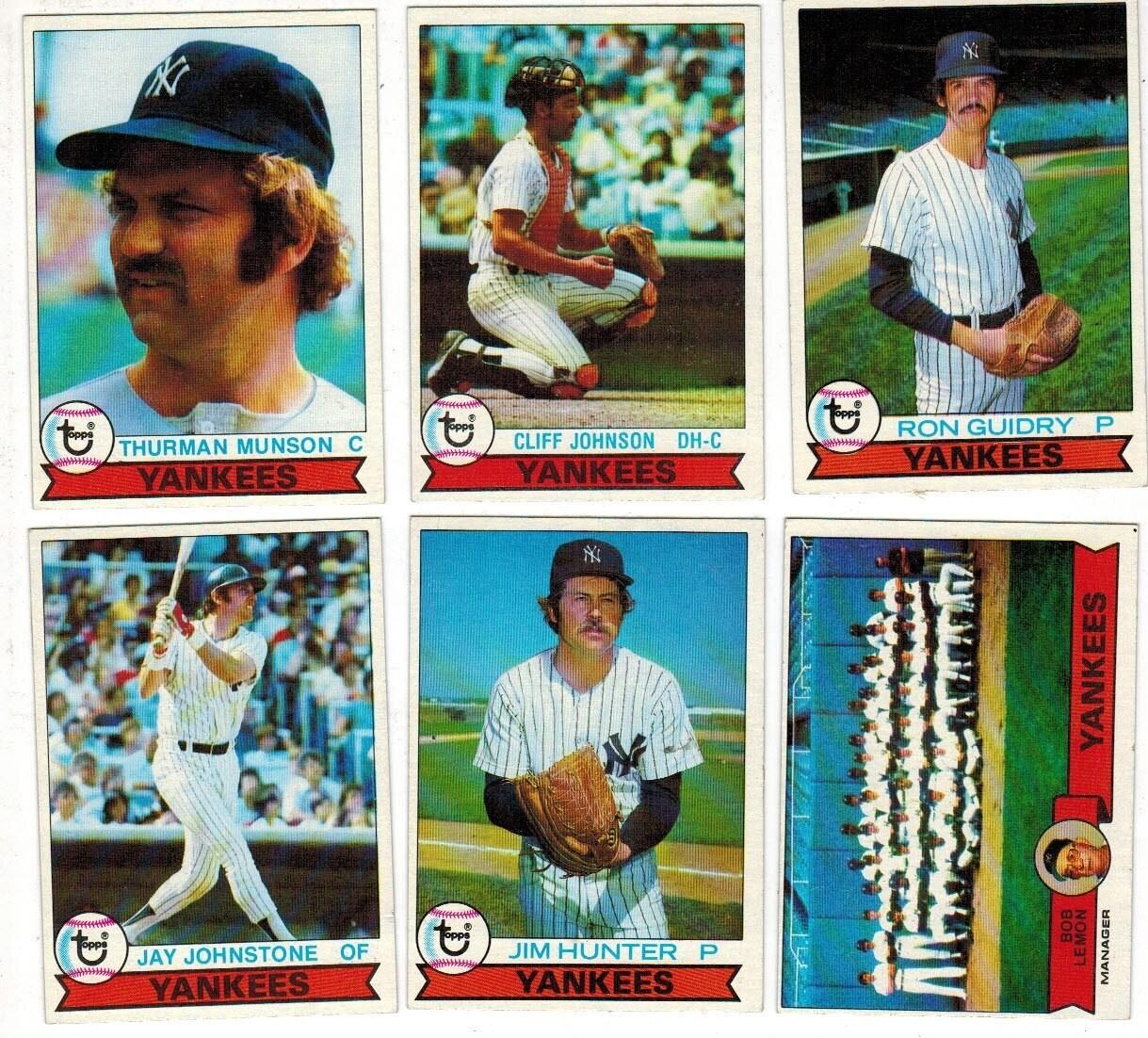1979 Burger King Yankee Team set 23 ct.