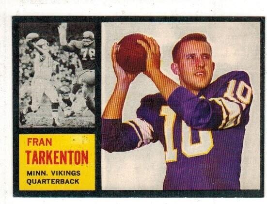 1962 Topps #90 Fran Tarkenson rookie list $225