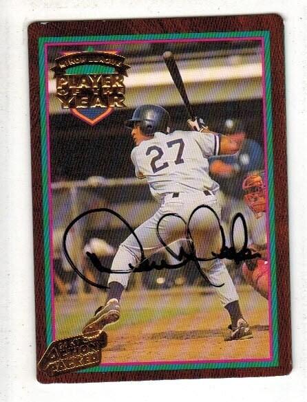 1995 Action Packed Derek Jeter signed card