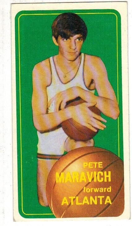 1970 Topps #123 Pete Maravich rookie