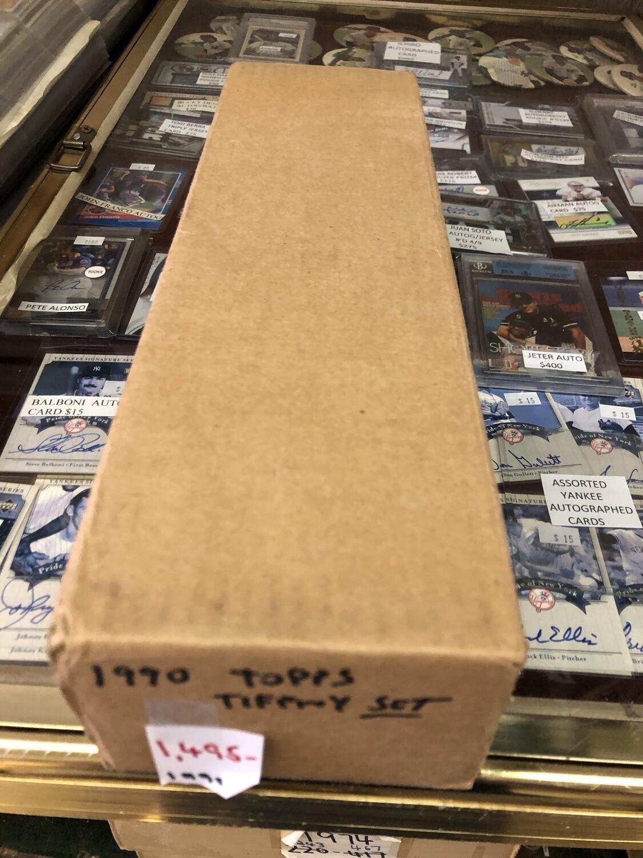 1990 Topps Tiffany Factory Baseball Set