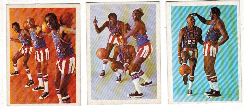 1972 Fleer Harlem Globetrotters Basketball Complete set 28 ct.