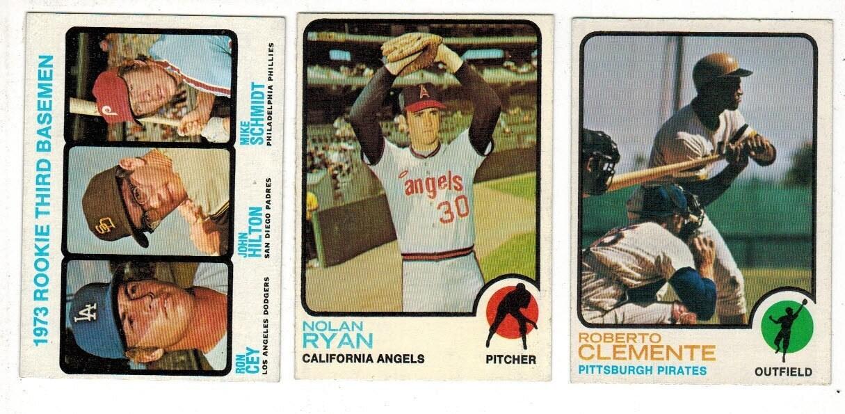 1973 Topps Baseball Complete set Ex/Mint