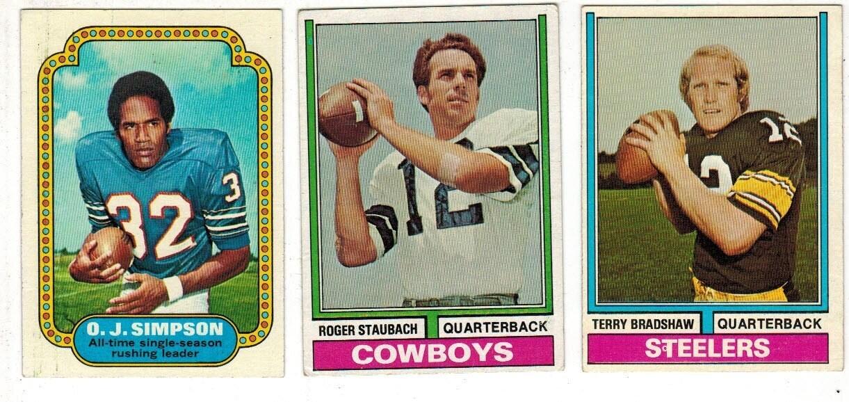 1974 Topps Football Complete set