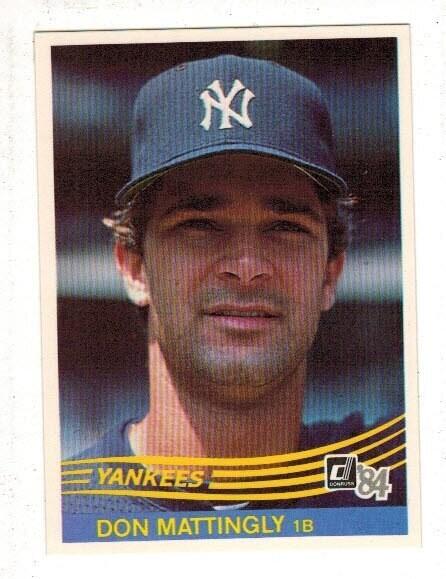 1984 Donruss Don Mattingly rookie Centered Mint