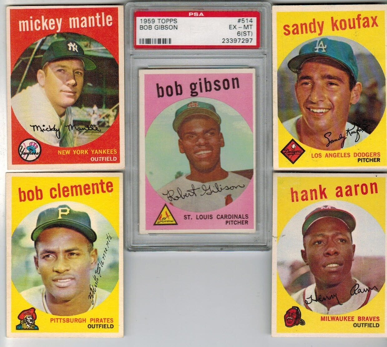 1959 Topps Baseball Complete set Ex/Mint