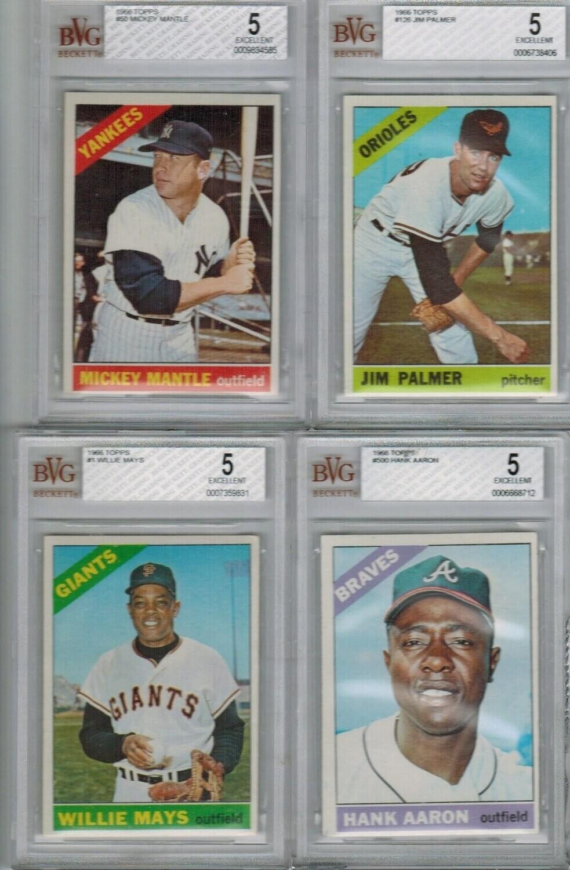 1966 Topps Baseball Complete set Ex/Mint
