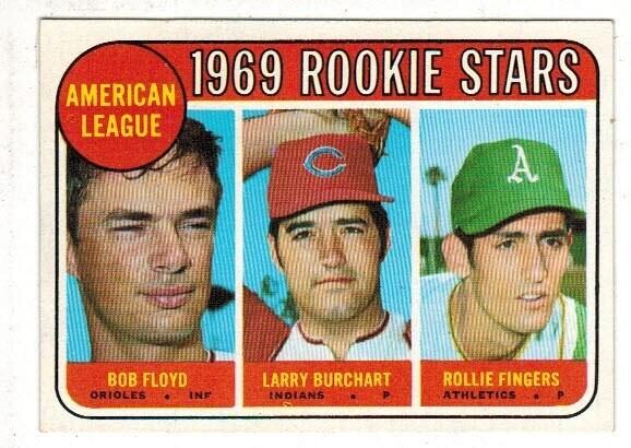 1969 Topps #597 Rollie Fingers rookie Nr Mint
