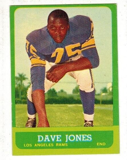 1963 Topps #44 Deacon Jones rookie list $125