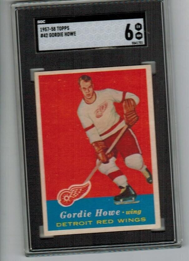 1957/58 Topps Gordie Howe SGc 6