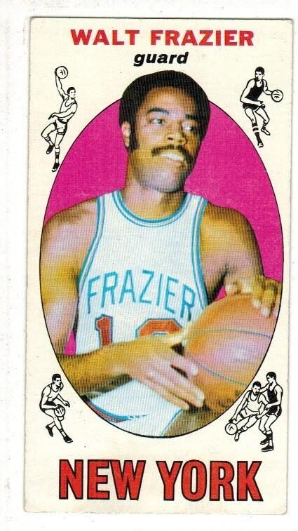 1969/70 Topps #98 Walt Frazier rookie list $250