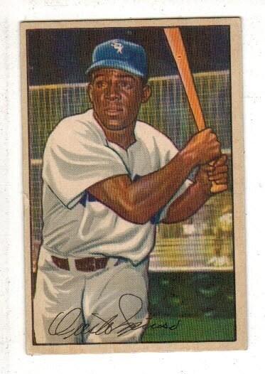 1952 Bowman #5 Minnie Minoso rookie