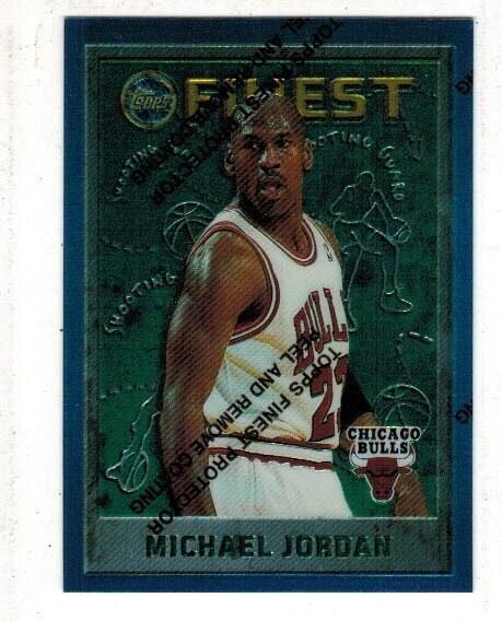 996 Finest Michael Jordan