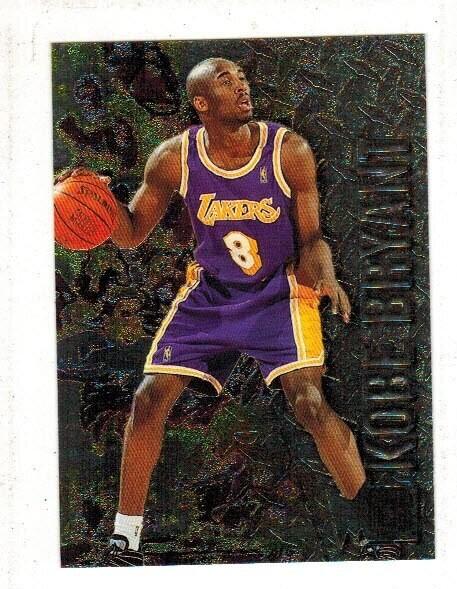 1996/97 Fleer Metal Kobe Bryant rookie