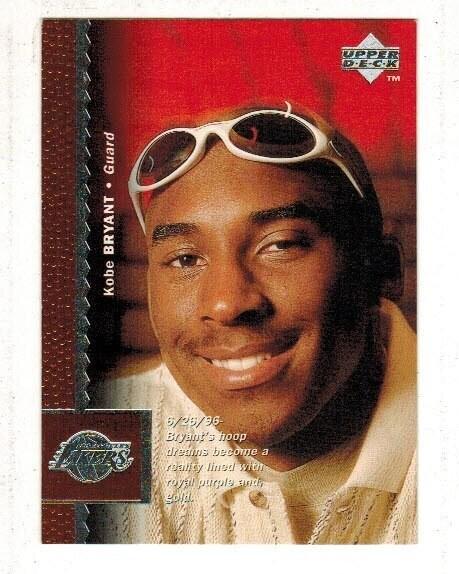 1996/97 Upper Deck Kobe Bryant rookie