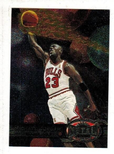 1997 Fleer Metal Universe #23 Michael Jordan