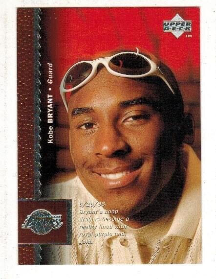 1996 Upper Deck Kobe Bryant rookie