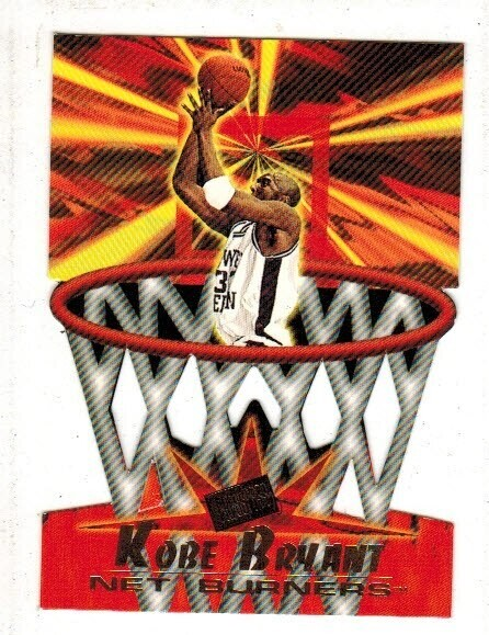 1996 Press Pass Kobe Bryant rookie