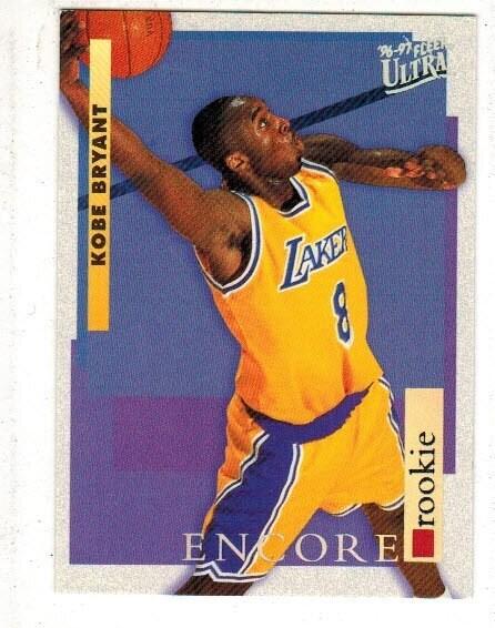 1996 Fleer Ultra Kobe Bryant rookie