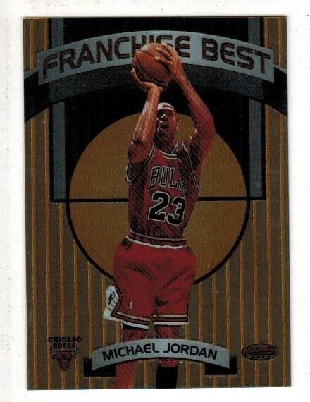 1999 Bowman Best Franchise Best Michael Jordan