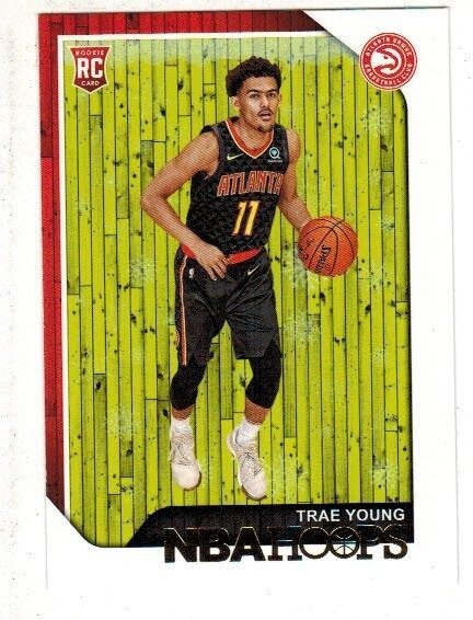 2018 Hoops #250 Trae Young rookie