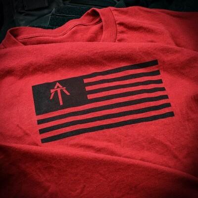 AMERICAN TOMAHAWK FLAG SHIRT
