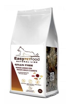 Grain Free Dog Adult - Angus Beef, Patate Dolci, Carote.
