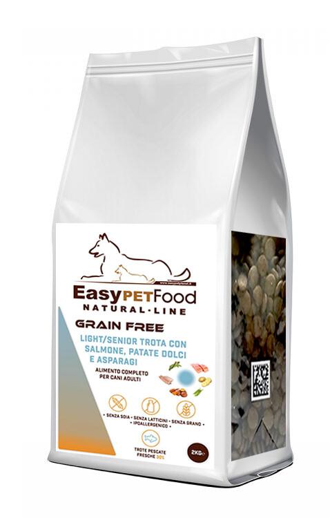 Grain Free Dog Adult - Salmone, Trota, Patate Dolci, Asparagi.
