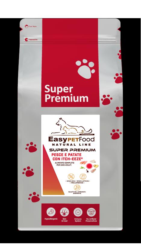 Super Premium Dog Adult -Pesce e Patate con Itch-Eeze- kg 2