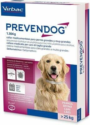 Virbac - Prevendog 2 Collare Antiparassitario 75 cm