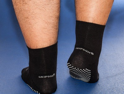 GripSox Stretch Top® Black