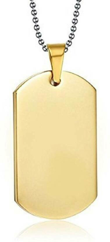 Dogtag Gold Chain