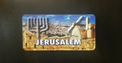 Jerusalem Fridge Magnet
