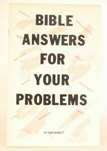 Don Gossett | Bible Answers for your Problems