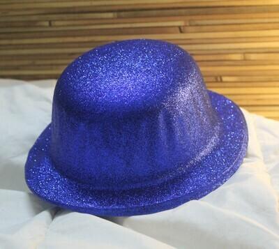 Blue Shimmer Party Hat
