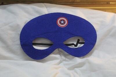 Captain America Eye Mask with Elasticized Band