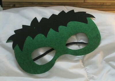 Hulk Eye Mask with Elasticized Band