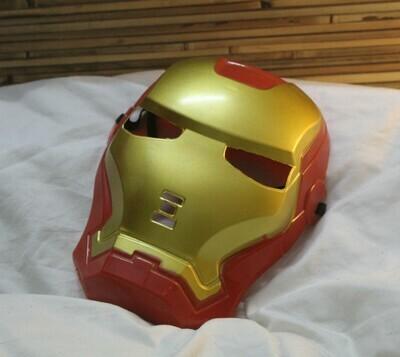 Ironman Mask with Elasticized Band