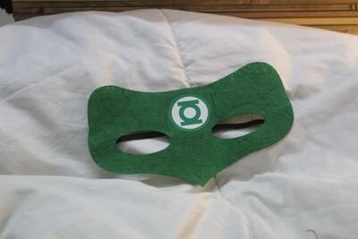 Green Lantern Eye Mask with Elasticized Band