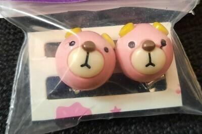 Bear Earrings (Latch - On)