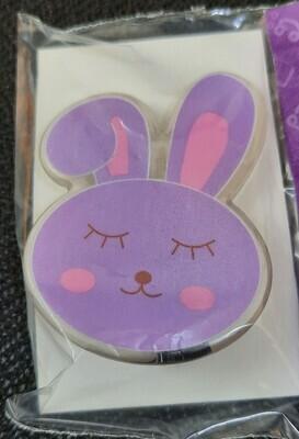 Purple Bunny Hairclip