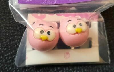 Owl Earrings (Latch-On)