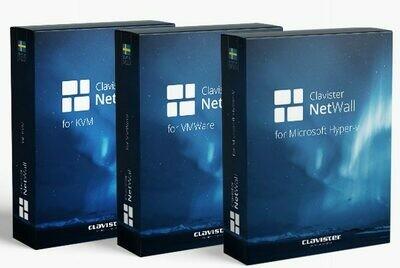 Clavister NetWall 100V MSSP avec contrat CPS