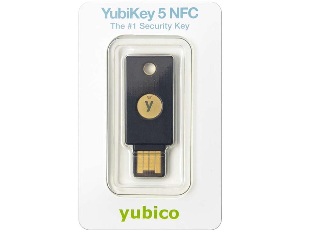 Yubikey 5 NFC, pack 10 clés